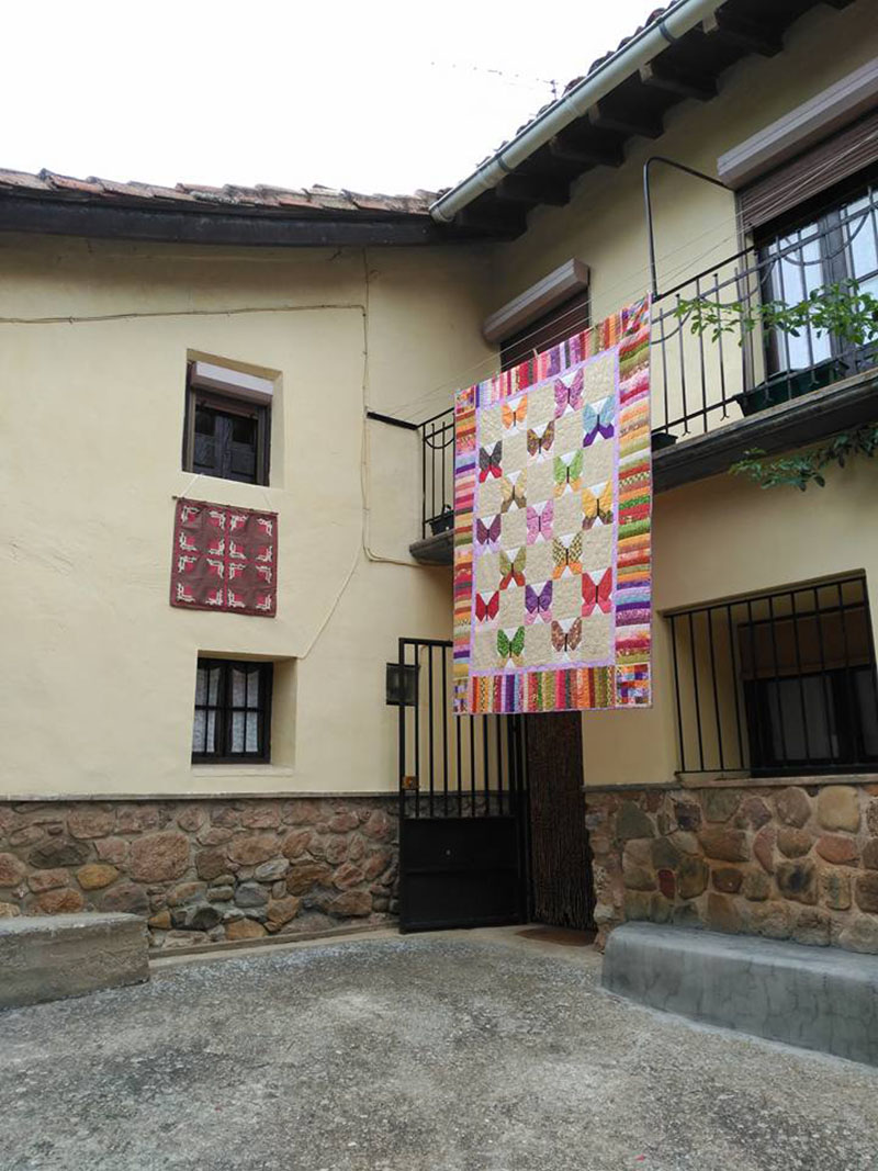 7º fiesta de las Almazuelas Colgadas de Pradillo de Cameros (La Rioja)