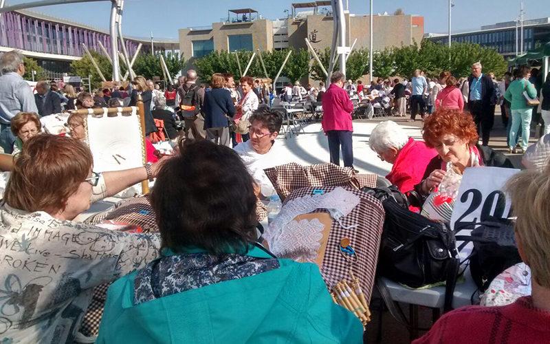 Encuentro de Bolillos del PIlar 2016 (Zaragoza)