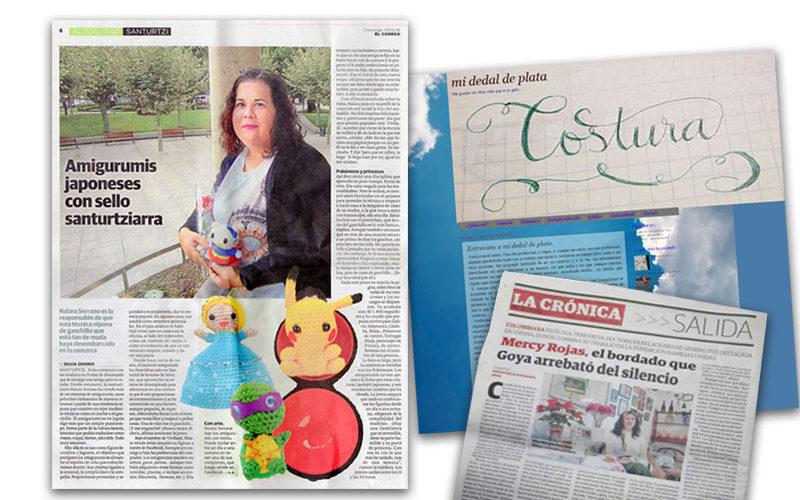 Entrevistas de La Voz de las Costureras que han aparecido en prensa