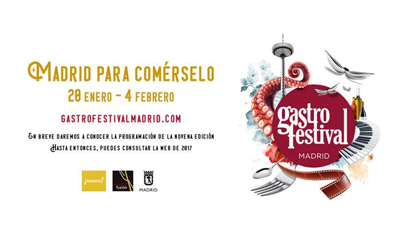 Gastrofestival 2018, en el Museo del Traje de Madrid