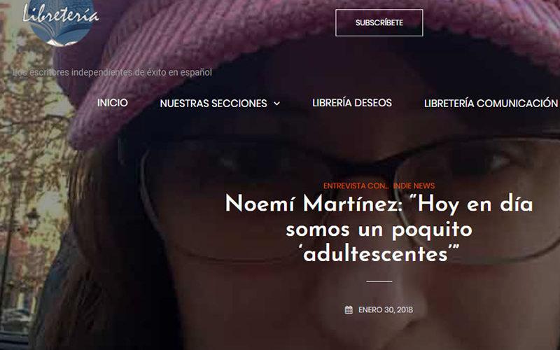 Entrevista en www.libreteria.com