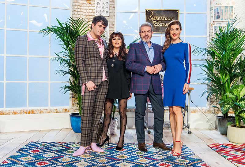 Alejandro Palomo, María Escoté, Lorenzo Caprile y Raquel Sánchez Silva, Maestros de la Costura