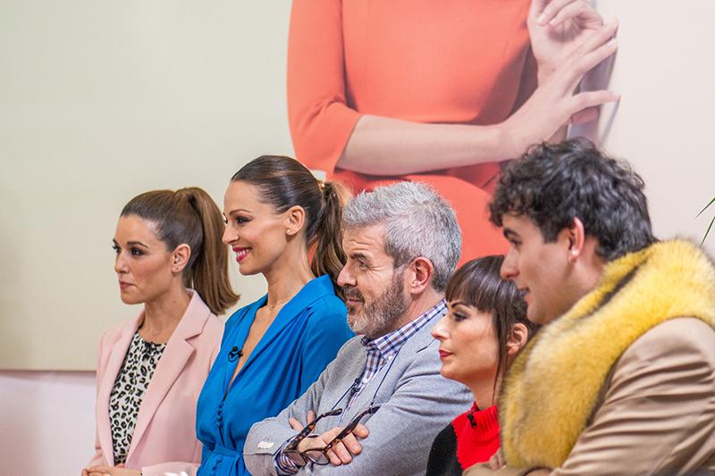Quinto programa de Maestros de la Costura con Eva González y el estilista Josie