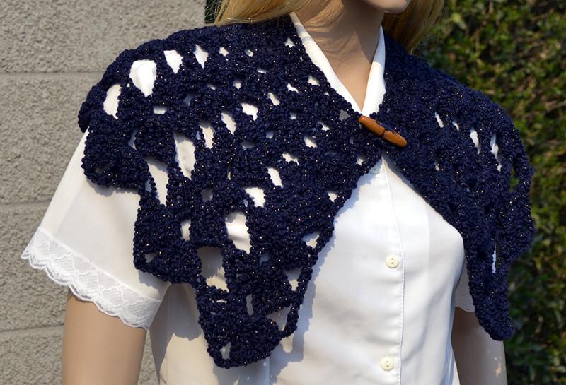 Carina Noemí Molina, autora de la web Moda a Crochet.