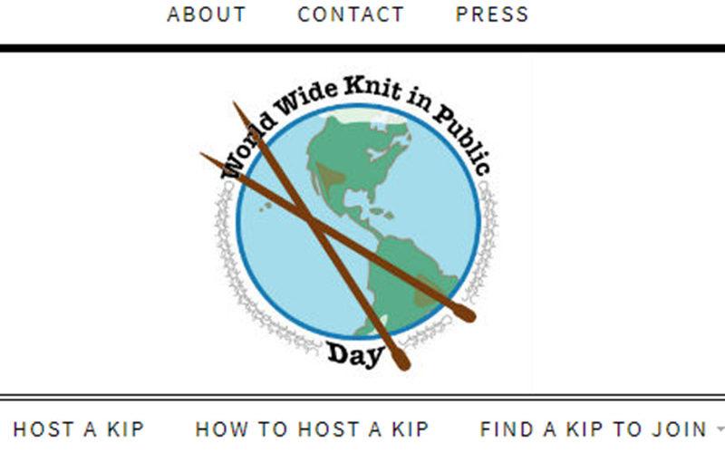 9 de junio de 2018, 13º Día Mundial del Tejer en Público