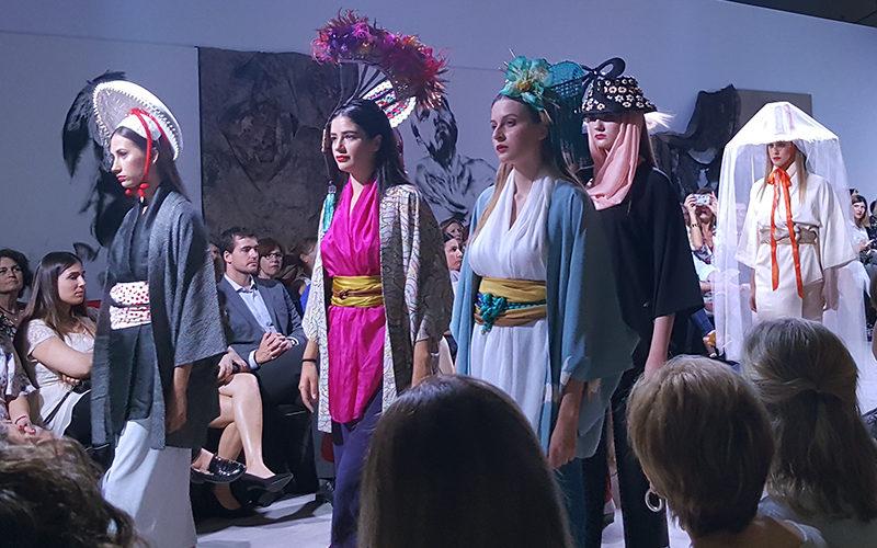 Desfile de Comercios Aragoneses en la I Aragón Fashion Week 2018