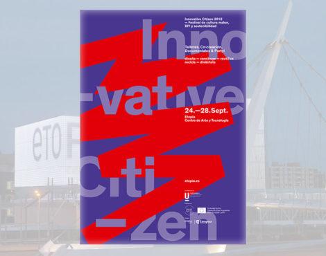 Textil en Innovate Citizen, festival de cultura maker, DIY y sostenibilidad en Etopia (Zaragoza)