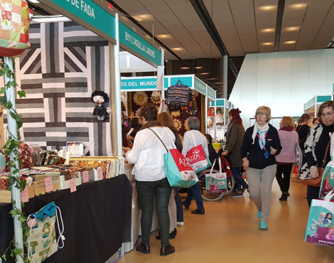 The Knitting &Stitching Show, del 11 al 14 de octubre en Alexandra Palace (Londres)