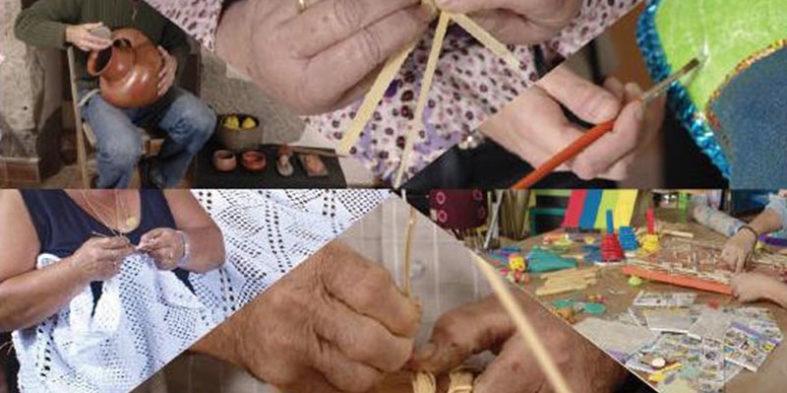 Varias generaciones de artesanos intercambian conocimiento en Gran Canaria