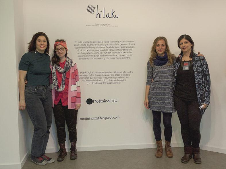 Hilaku, Primera Muestra de Creadoras Textiles Residentes en Zaragoza