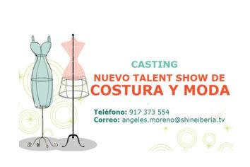 Casting para programa de costureras amateur