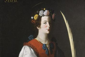 Santa Lucía, patrona de costureras y modistas