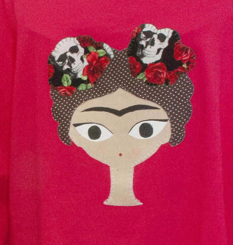 Articulo de Punto y Punto, marca textil artesana aragonesa fundada por Arancha Sanz