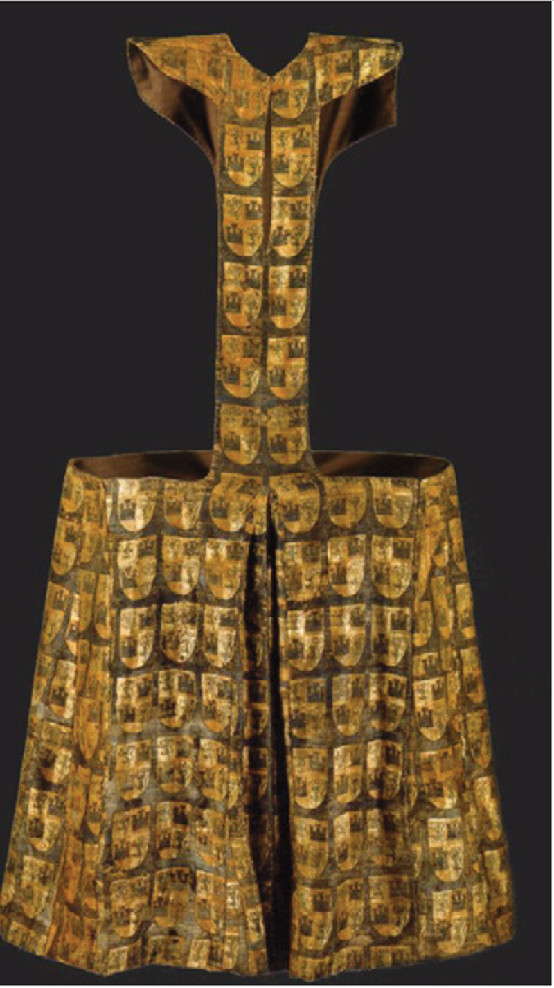 Pellote del Infante Don Fernando dela Cerda, Museo de las Telas Medievales del Monasterio de las Huelgas