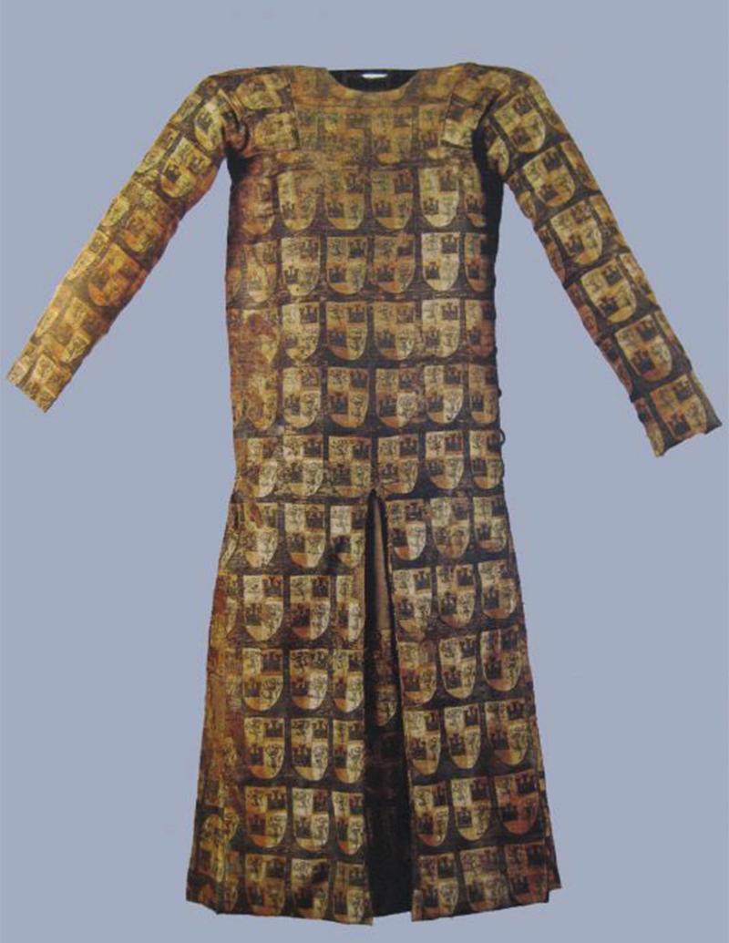 Saya Encordada del Infante Don Fernando dela Cerda, Museo de las Telas Medievales del Monasterio de las Huelgas