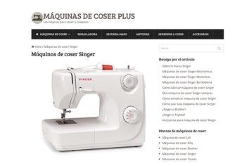 Nacho Cuesta, del equipo de Máquinas de Coser Plus