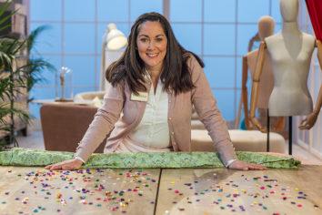 Vanessa, aprendiz de Maestros de la Costura