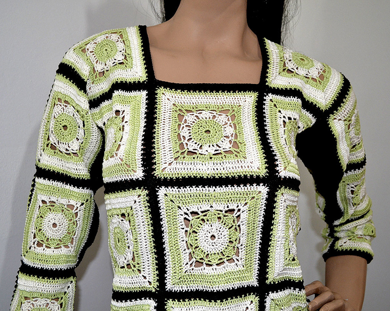 Carina Noemí Molina, autora de la web Moda a Crochet