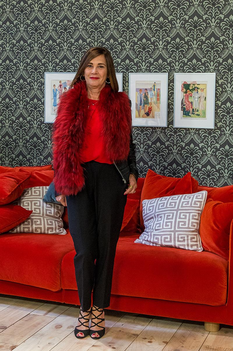 La directora de Mercedes Benz Fashion Week Madrid, Charo Izquierdo. Foto, Shine Iberia.