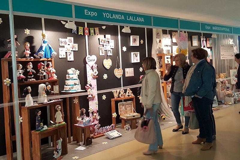 Expo Yolanda Lallana en la 8º Creativa Zaragoza