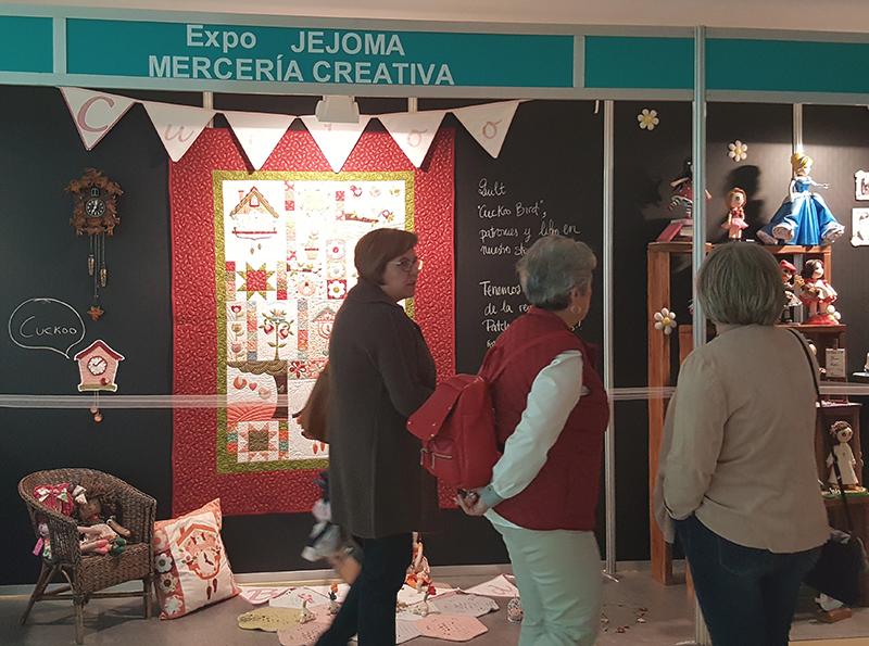 expo jejoma merceria 8º Creativa Zaragoza