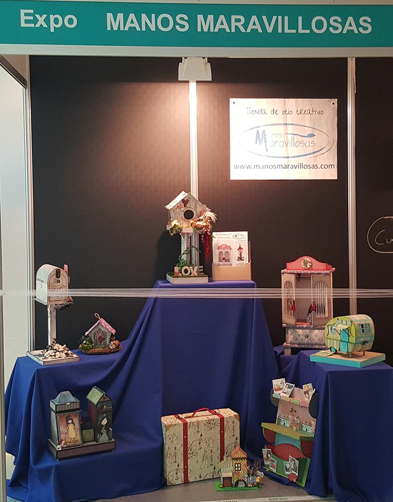 expo manos maravillosas en la 8º Feria Creativa Zaragoza