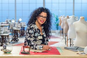 Luisa Reyes, la concursante más flamenca de Maestros de la Costura
