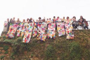 Encuentro subversivo de ganchillo en el marco de Muyeres Fest