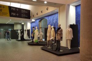 Moda y artes plásticas en una exposición de la I Aragón Fashion Week