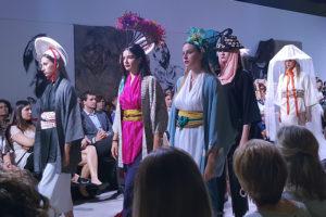 Desfile de comercios aragoneses en la I Aragón Fashion Week