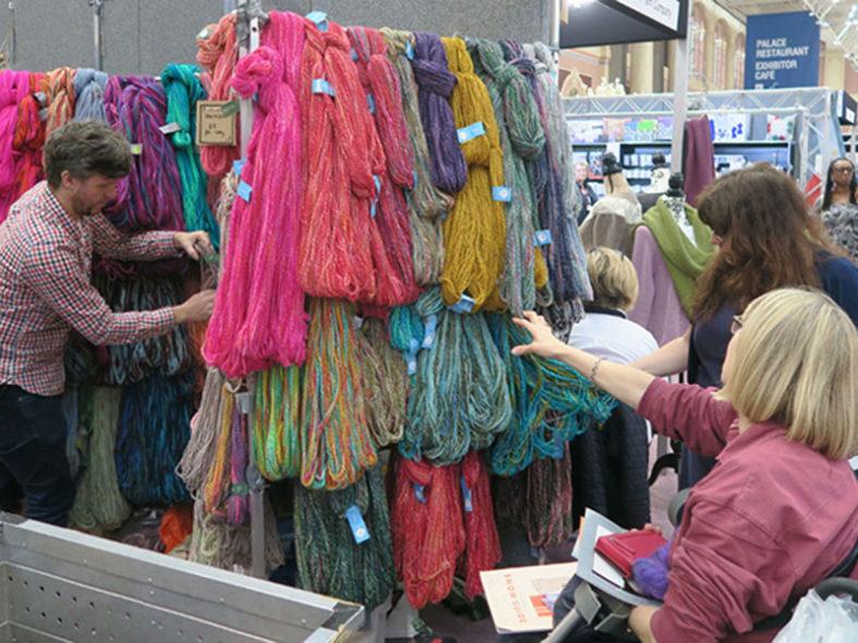 The Knitting &Stitching Show, del 11 al 14 de octubre en Alexandra Palace (Londres)
