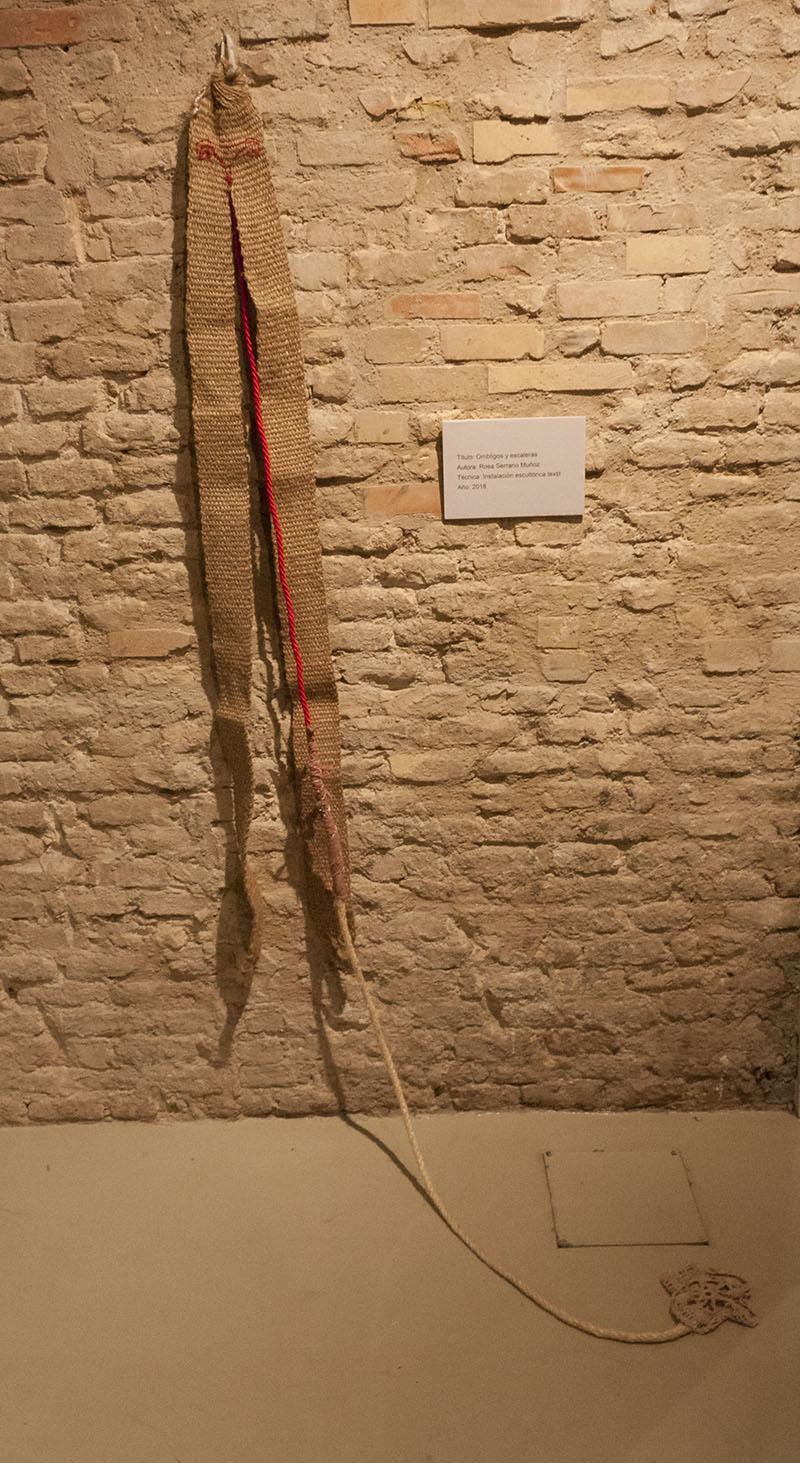 Ombligos y escaleras, de Rosa Serrano. Foto: Noemí Martínez.