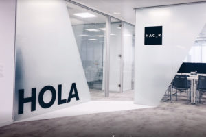 El 1 de diciembre de 2018, puertas abiertas en Hac_r Creativo (Zaragoza)