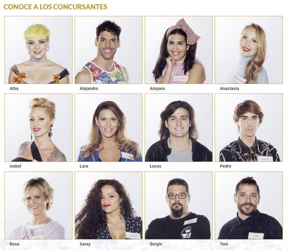 Avance Maestros de la Costura 2019. Los concursantes. Foto: RTVE