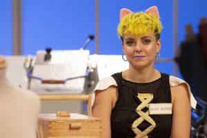 Alba Gador, aprendiz de Maestros de la Costura