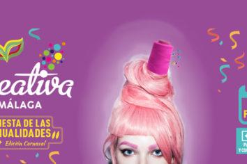 Creativa Málaga, del 15 al 17 de febrero de 2019