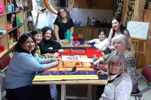 Sapikuna, muestra de arte textil colaborativa e identitaria en Tafí del Valle (Argentina)