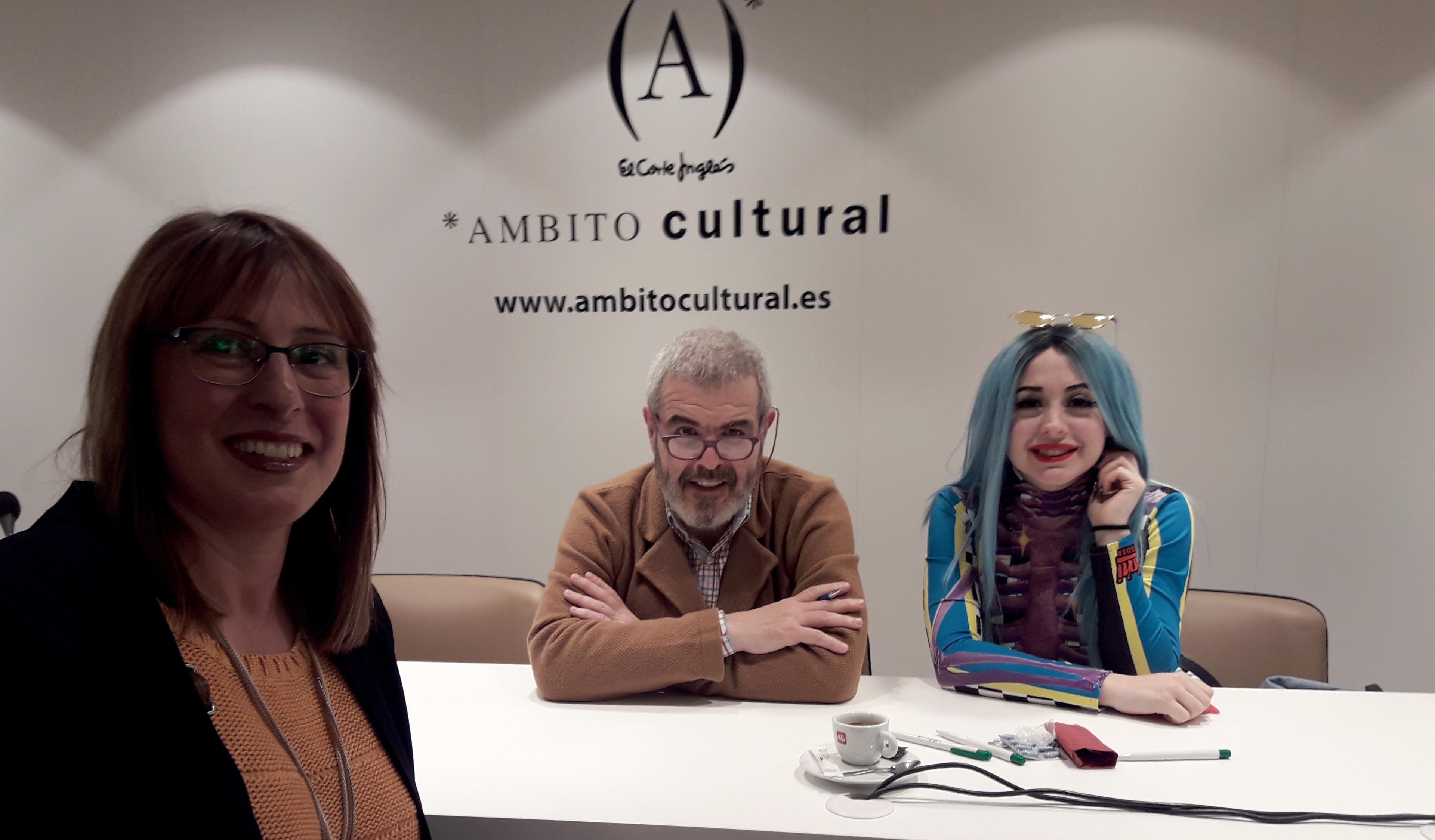 Presentación del libro ´De qué hablamos cuando hablamos de estilo`, de Caprile, en El Corte Inglés de Zaragoza