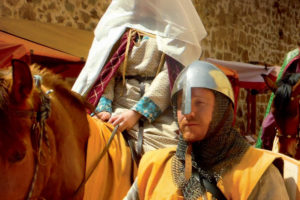 Costura medieval en Ágreda para los desposorios de Jaime I y Leonor de Castilla