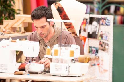 Alejandro San Martín, concursante de Maestros de la Costura y actor
