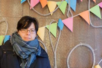 Vanessa Alegre, creadora de Chispón, marca de artesanía textil zaragozana