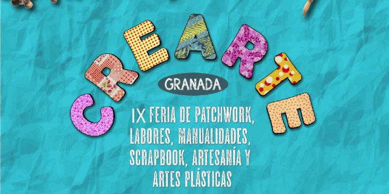 La feria Crearte Granada, del 12 al 14 de abril de 2019