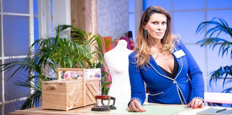 Lara Sajen, cantante, actriz y concursante de Maestros de la Costura