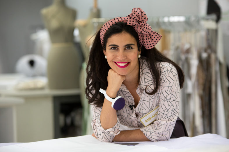 """""""Amparito Taconcitos"""", tercera clasificada en Maestros de la Costura"""