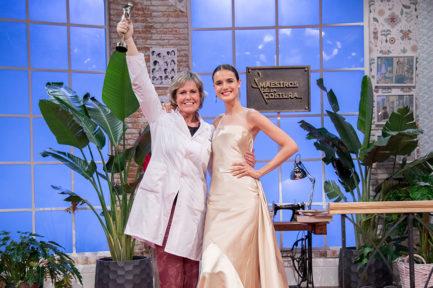 Rosa León, ganadora de Maestros de la Costura II
