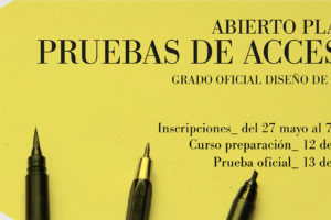 Arrancan las pruebas de acceso para el Grado de Diseño de Moda de Zaragoza
