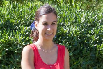 Laura Lapresta, creadora de «Pajaritas por Aquí», marca de artesanía textil
