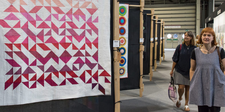 The Festival of Quilts, del 1 al 4 de agosto en Birminghan (Reino Unido)