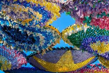 Toldos de ganchillo de Los Cerralbos: tradición, reciclaje e impulso rural
