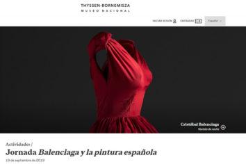 Últimas plazas para la Jornada Balenciaga en el Museo Thyssen